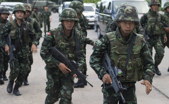 Quân đội Thái Lan ban bố lệnh giới nghiêm sau đảo chính