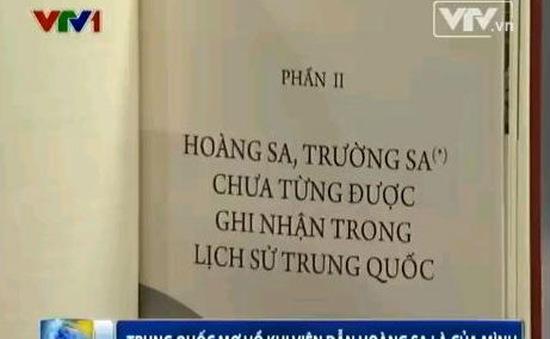 Trung Quốc mơ hồ khi viện dẫn Hoàng Sa là của mình