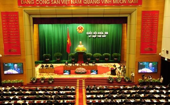 Quốc hội bổ sung dự án Luật biểu tình trong chương trình xây dựng Luật, Pháp lệnh