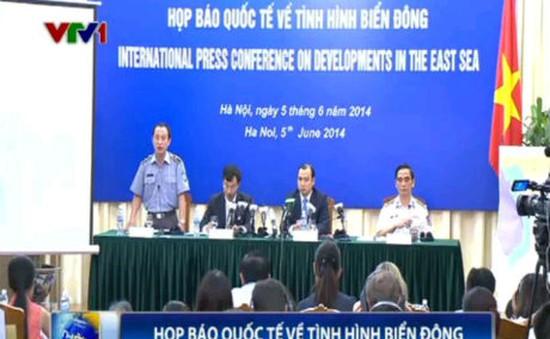Bộ Ngoại giao Việt Nam tổ chức họp báo quốc tế về tình hình Biển Đông