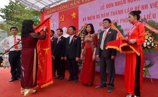 Bệnh viện Phong Quy Hoà đón nhận Huân chương Độc lập Hạng II