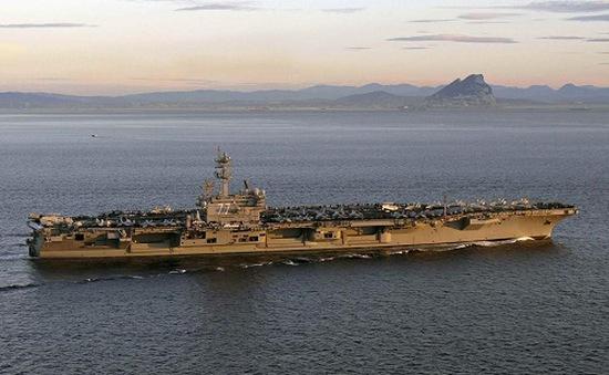 Mỹ điều tàu sân bay tới Vùng Vịnh