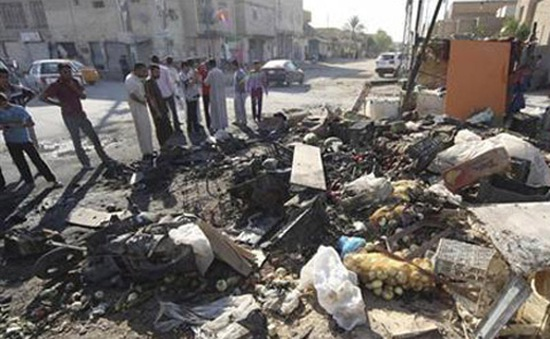 Quân đội Iraq đẩy mạnh tấn công ở phía Bắc Baghdad