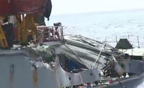 Cập nhật ngày 23/6: Tàu Kiểm ngư 951 bị tàu Trung Quốc đâm va, gây biến dạng