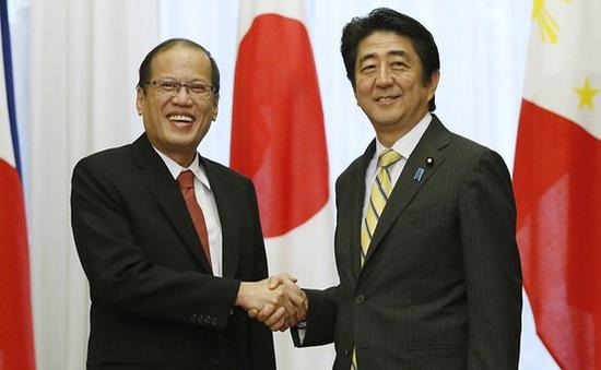 Nhật Bản - Philippines tăng cường quan hệ đối tác chiến lược