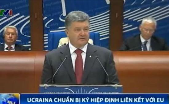 """Nga coi Hiệp định liên kết Ukraine - EU là """"thảm họa"""""""