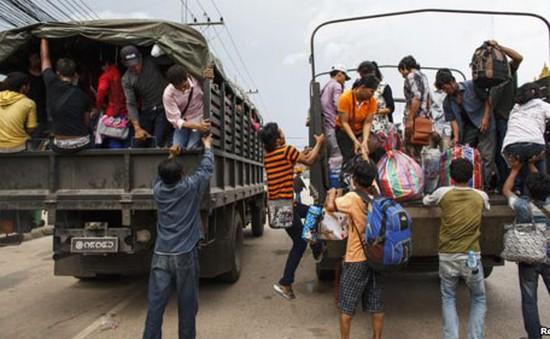 Thái Lan và Campuchia thảo luận về lao động nhập cư