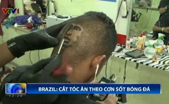 Người dân Brazil đua nhau làm tóc giống Ronaldo