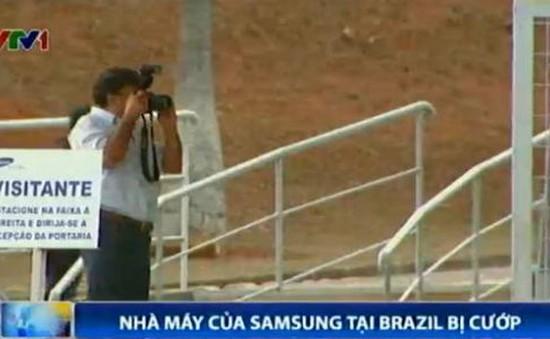 40.000 thiết bị điện tử ở nhà máy Samsung Brazil bị cướp