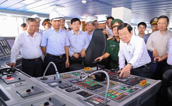 Chủ tịch nước thăm và làm việc tại Quảng Ninh