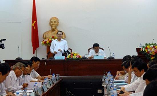 Phó Thủ tướng Vũ Văn Ninh làm việc tại tỉnh Cà Mau