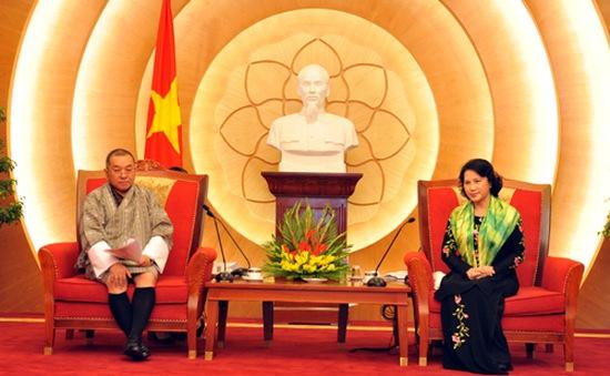 Phó Chủ tịch Quốc hội Nguyễn Thị Kim Ngân tiếp Tổng kiểm toán Bhutan