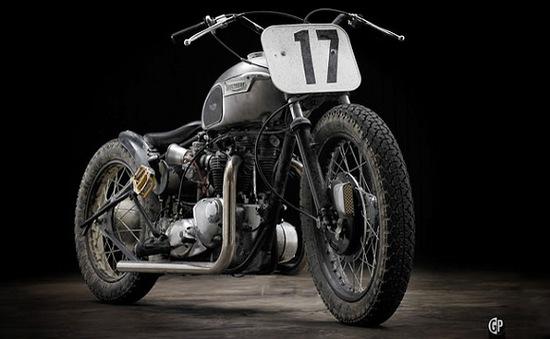 Triumph T120 bobber – Đứa con lai hoàn hảo