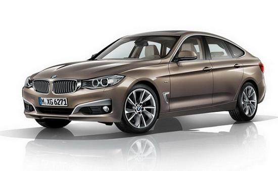 BMW khoe tất cả những gì có trên 3-Series Gran Turismo