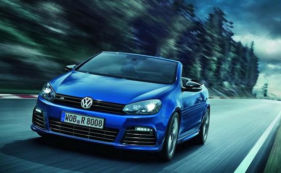 Volkswagen Golf R Cabriolet - Mui trần mạnh mẽ