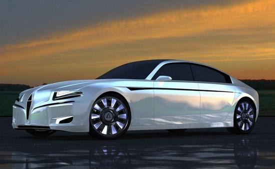 Silex Power Chreos: Chiếc sedan chạy điện siêu nhanh
