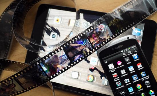 Helmut Film Scanning: Phần mềm scan phim ấn tượng trên Android