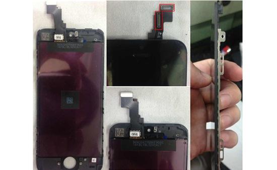 Rò rỉ ảnh màn hình của iPhone 5S?