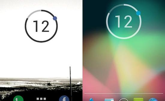 Những widget đồng hồ ấn tượng trên Android (P1)