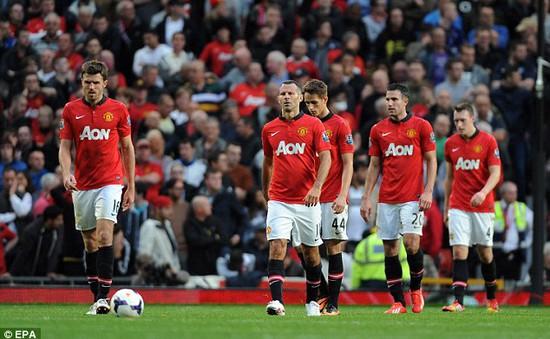 Hàng công bạc nhược, Man Utd nối dài chuỗi trận thất vọng