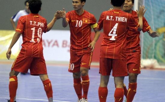 """Futsal Việt Nam và sự thích nghi của các """"tân binh"""" ĐTQG"""