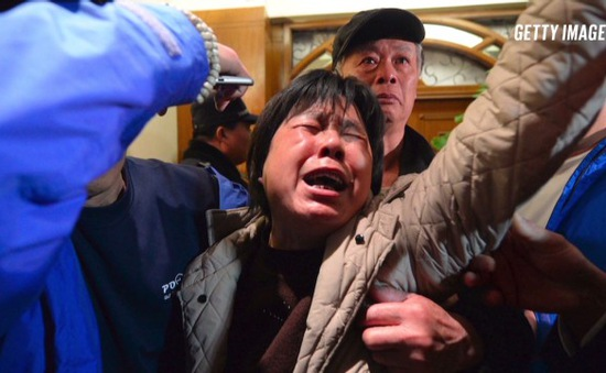 Cuộc tìm kiếm MH370 gián đoạn ít nhất 24h, người nhà nạn nhân phẫn nộ