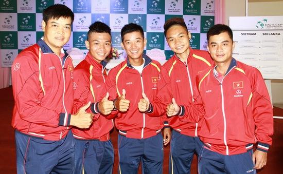 Play-off nhóm II Davis Cup: Minh Quân giúp Việt Nam dẫn trước Sri Lanka