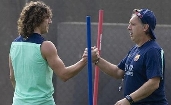 Puyol: Barca sẵn sàng chết vì Martino!