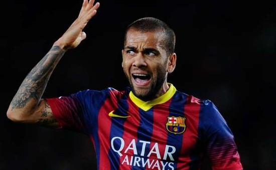 Alves vùng vằng đòi rời Barca: Tôi cần nguồn năng lượng mới