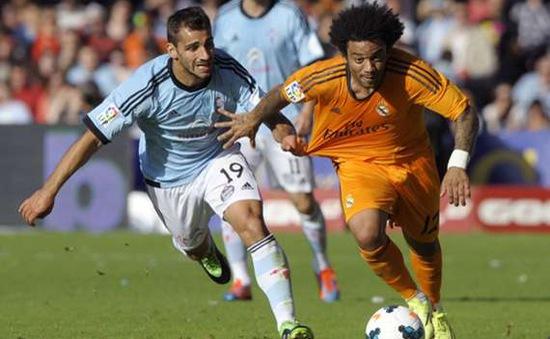 """Thua nhạt Celta, Real chính thức """"vẫy cờ trắng"""" tại La Liga (VIDEO)"""