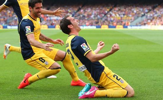 """Atletico Madrid đăng quang, Simeone dùng """"lời có cánh"""" ca ngợi CĐV Barcelona"""