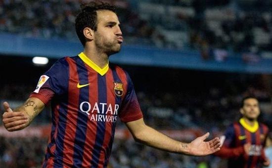 Man City duyệt chi 37 triệu Euro, lôi kéo Cesc Fabregas trở lại Premier League