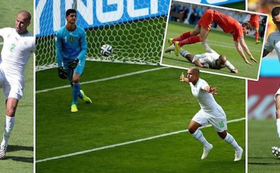 Bỉ 2-1 Algeria: Nhọc nhằn lội ngược dòng