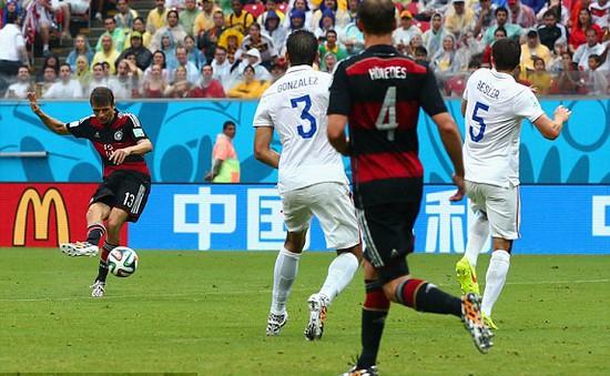 Đức và Mỹ dắt tay nhau vào vòng knock-out