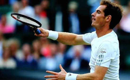 """Wimbledon 2014: Thắng dễ Anderson, """"nhà vua"""" Murray hùng dũng tiến vào tứ kết"""