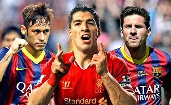 """Bộ ba nguyên tử của Barca được """"đàn em"""" tâng lên mây xanh"""