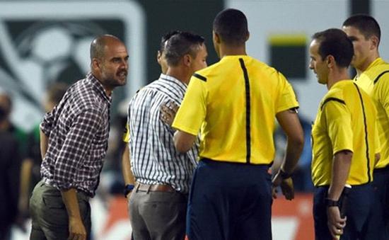 Pep Guardiola nổi nóng với đồng nghiệp sau trận giao hữu trên đất Mỹ