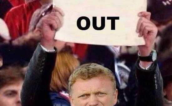 """Ảnh chế thất bại đầu mùa của Man Utd: Có một """"David Moyes"""" phiên bản mới?"""
