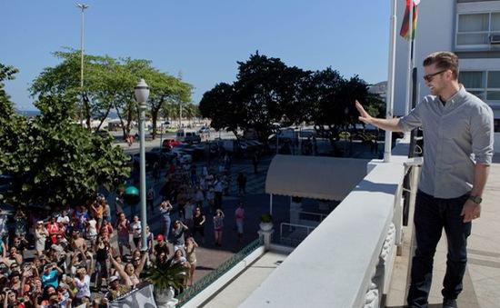 Justin Timberlake đưa phim mới tới Rio De Janeiro