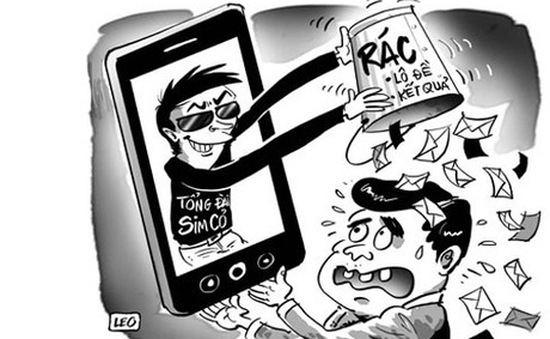 Phát hiện vụ sử dụng tin nhắn rác chiếm đoạt tiền khách hàng