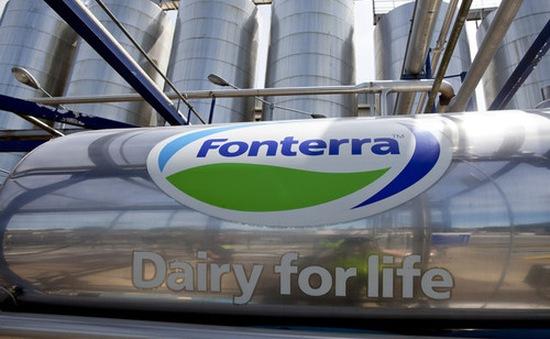 Hãng sữa Fonterra sẽ cung ứng 1 tỷ lít/năm vào Trung Quốc