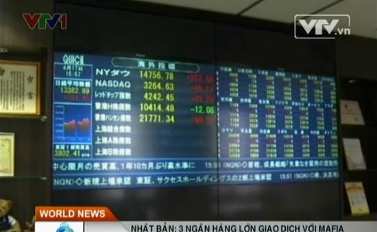 3 ngân hàng lớn của Nhật Bản giao dịch với Mafia