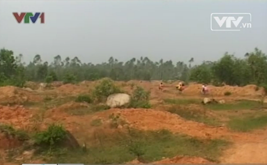 """Quảng Nam: Dự án bỏ hoang, dân """"khát"""" đất sản xuất"""