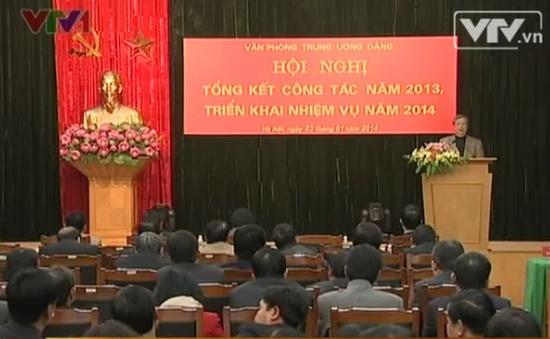 Văn phòng Trung ương Đảng triển khai nhiệm vụ 2014