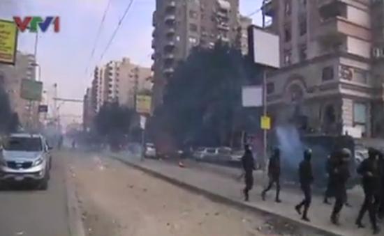 Ai Cập: Đụng độ đẫm máu khiến 11 người chết