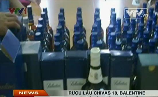 Sốc: Chivas 18, Balentine giá chỉ vài trăm nghìn đồng ở Hà Nội