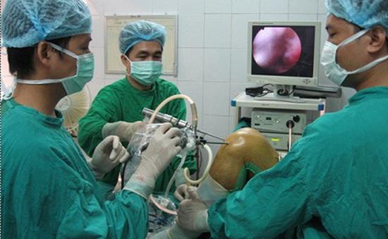 Bệnh viện 199 triển khai mổ nội soi khớp gối theo kỹ thuật mới