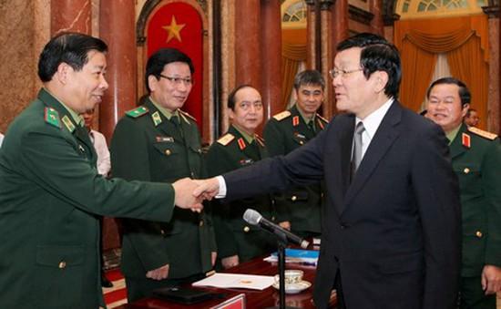 Chủ tịch nước làm việc với Bộ Quốc phòng về tình hình biên giới