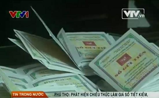 Phú Thọ phát hiện chiêu thức làm giả sổ tiết kiệm, chiếm đoạt 5,2 tỷ đồng