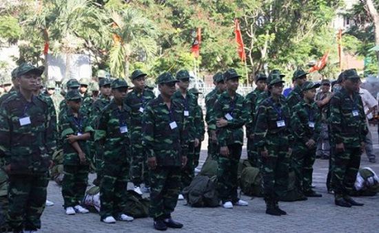 """Quảng Trị: 73 """"chiến sĩ nhí"""" tham gia Học kỳ quân đội"""